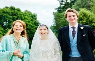 في حفل عائلي بسيط... زواج الأميرة راية بنت الحسين من صحفي بريطاني