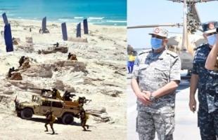 """الجيش المصري يعلن عن مناورات على حدود ليبيا سميت بـ""""حسم 2020"""""""
