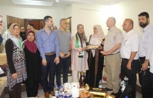 """""""دائرة الأشبال والزهرات"""" تكرم أوائل الطلبة المتفوقين بغرب غزة"""