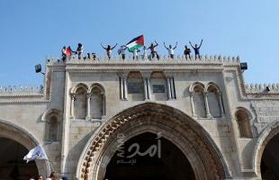 إصابات واعتقالات عقب اعتداء قوات الاحتلال على المصلين قرب باب الأسباط