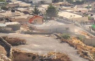 هدم منزل قيد الإنشاء في حي الشياح بجبل المكبر جنوب القدس