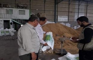 زراعة حماس تنفذ جولة رقابية على مستودعات ومخازن الأعلاف