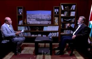 النخالة: معركة إسرائيل الحقيقية في الضفة والقدس ومستعدون للتعامل مع دولة فلسطينية في حدود 67