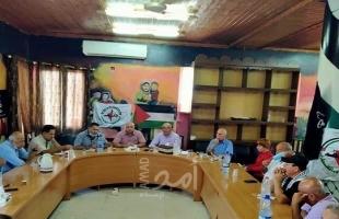 النضال الشعبي تنظم ندوة سياسية في مخيم طولكرم