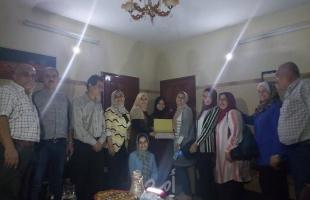 مكتب مهن فتح الطبية غرب غزة ينظم سلسلة زيارات لتهنئة الناجحين بالثانوية العامة