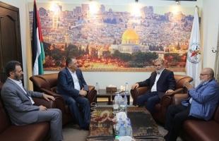 النخالة يلتقي السفير الفلسطيني في بيروت.. ويؤكدان على أهمية الوحدة الوطنية