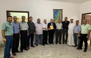 حماس وفدا يؤكدان على الوقوف جنباً لإنجاح مهرجان مواجهة الضم وصفقة ترامب