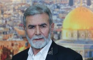 تفاصيل لقاء النخالة مع نائب الأمين العام لحزب الله
