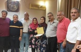 مكتب فتح للمهن الطبية إقليم غرب غزة يواصل زياراته لتهنئة الناجحين بالثانوية العامة