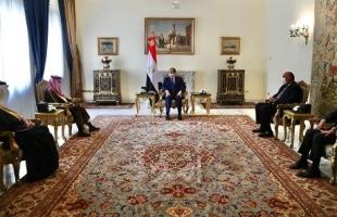 الرئيس السيسي يستقبل وزير خارجية السعودية لبحث آخر المستجدات الإقليمية