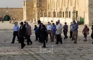 القدس: عشرات المستوطنين يقتحمون باحات المسجد الأقصى