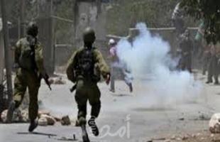 إصابات واعتقالات خلال قمع قوات الاحتلال وقفة احتجاجية جنوب طولكرم