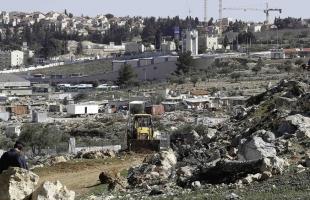 حرية يدين قرار إسرائيل بالاستيلاء على 658 دونمًا من أراضي العبيدية شمال بيت لحم