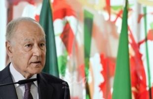 أبو الغيط يدعو مجلس الأمن والأمم المتحدة لإقامة شراكة مع الجامعة العربية