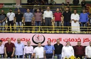 غزة: هنية يفتتح الصالة المغطاة بنادي خدمات البريج