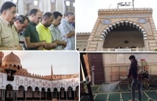 مصر تعيد السماح بصلاة الجمعة في المساجد الكبرى بضوابط