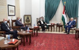 عباس يستقبل وزيرة الصحة