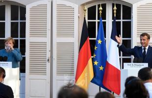 """ماكرون: باريس وبرلين لهما""""الهدف ذاته"""" في شرق المتوسط وهو السيادة الأوروبية والاستقرار"""