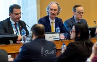 """الجولة الثالثة لمناقشة تعديل الدستور السوري تنطلق في جنيف """"الاثنين"""""""