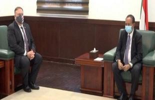 بعد لقائه بومبيو.. حمدوك: الحكومة لا تملك تفويضاَ للتقرير بشأن التطبيع مع إسرائيل