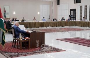 خلال تراس لجنة الطوارئ..عباس يصدر تعليماته بإرسال وفد وزاري إلى قطاع غزة
