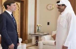 أمير قطر لكوشنر: حل الدولتين مطلوب لإنهاء الصراع الإسرائيلي - الفلسطيني