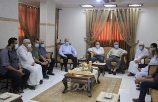 """حماس تلتقي بعائلة """"أبو عجوة"""" عقب الإفراج عنه  وبراءته من تهمة التخابر مع إسرائيل"""