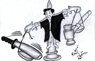 كاريكاتير .. الاعتداء على القضاء