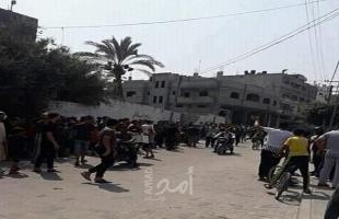 انفجار عرضي غامض في دير البلح وسط قطاع غزة