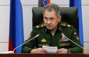 وزير الدفاع الروسي: ضمان الأمن القومى مرهون بوصول نسبة المعدات الحربية الحديثة لـ70%