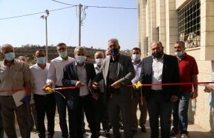 قلقيلية: المحافظ ووزير الحكم المحلي يسلمان معدات للمجلس المشترك الأول