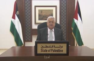 عباس: ما زلنا ننتظر من الأمم المتحدة إتمام مسؤوليتها في تحقيق تسوية قضية فلسطين - فيديو
