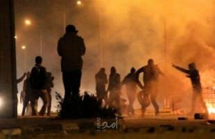 عشرات الإصابات بالغاز خلال مواجهات مع قوات الاحتلال في كفر قدوم