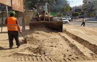 مرور غزة تؤكد استمرار إغلاق طرق ومفترقات في القطاع لأعمال صيانة