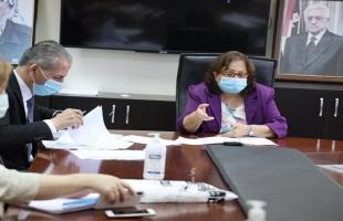 صحة رام الله تناقش الخطة الاستراتيجية الصحية الوطنية 2021 -2023