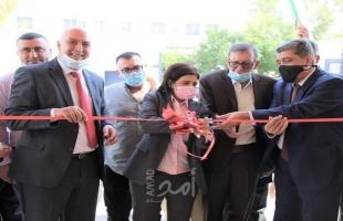 افتتاح مقر مديرية وزارة الداخلية الجديد في أريحا