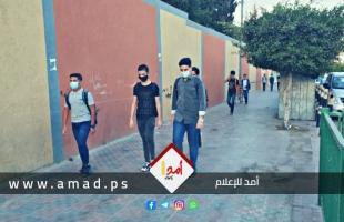 """بالفيديو.. كيف استقبلت مدارس غزة طلبة الثانوية العامة وسط تفشي فايروس """"كورونا""""؟!"""