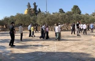 """سلطات الاحتلال تبعد موظفًا وحارسًا عن """"الأقصى"""""""