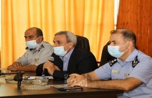 قلقيلية: اجتماع للجنة الطوارئ لمناقشة التحضيرات لاستقبال موسم الشتاء