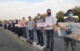 غزة: الشعبية بالوسطى تتضامن مع المناضلة خالدة جرار والأسيرين الأخرس وجورج عبدالله