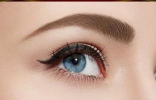 مكياج العيون الصغيرة المتقاربة