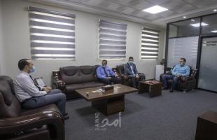 مستشفى حمد والكلية الجامعية بغزة يبحثان الشراكة الاستراتيجية في مجال تخصصات التأهيل