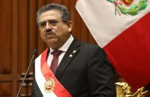 """عقب  الاحتجاجات الدامية..  رئيس بيرو المؤقت """"مانويل ميرينو"""" يعلن استقالته"""