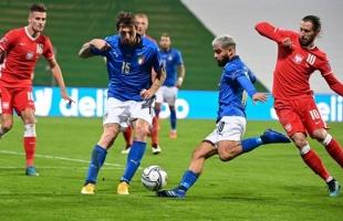 بالفيديو .. إيطاليا تخطف صدارة المجموعة الأولى بدورى الأمم الأوروبية