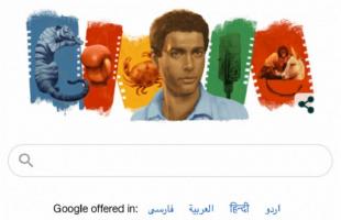 """شعار غوغل يخلد الممثل """"أحمد زكي"""" في عيد ميلاده"""