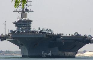 فوكس نيوز: سقوط صاروخين إيرانيين على بعد 20 ميلا من حاملة طائرات أمريكية