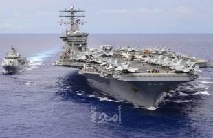 """خطوة تراجعية مفاجئة...البنتاغون: حاملة الطائرات """"نيميتز"""" ستبقى في الخليج وسط تهديد إيراني"""