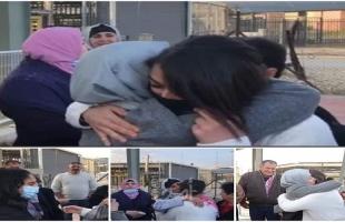 """قوات الاحتلال تفرج عن الأسيرة """"ميس أبو غوش""""- فيديو"""