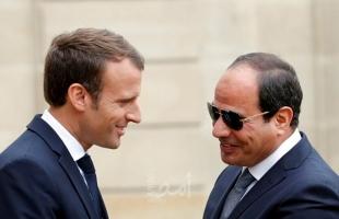 السيسي يلتقي ماكرون ويناقشان العلاقات الثانية ومضاعفة حجم الاستثمارات الفرنسية