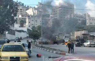 أ ف ب: مخيم بلاطة في الضفة بؤرة صراع محتمل لما بعد عباس